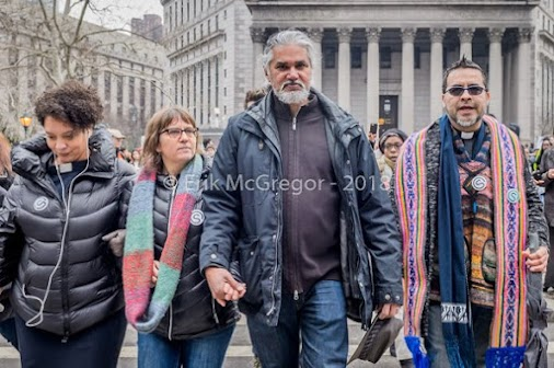 Ravi Ragbir, executive director of the New Sanctuary Coalition of New York City, received a temporary...