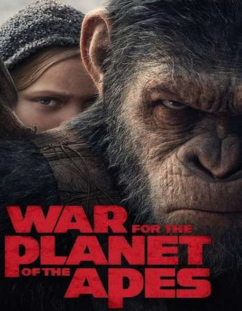 War for the Planet of the Apes 2017 Hindi Dual Audio 200MB HC HDRip HEVC 480p ESubs