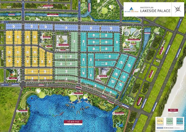 Mặt bằng toàn dự án Lakeside Palace