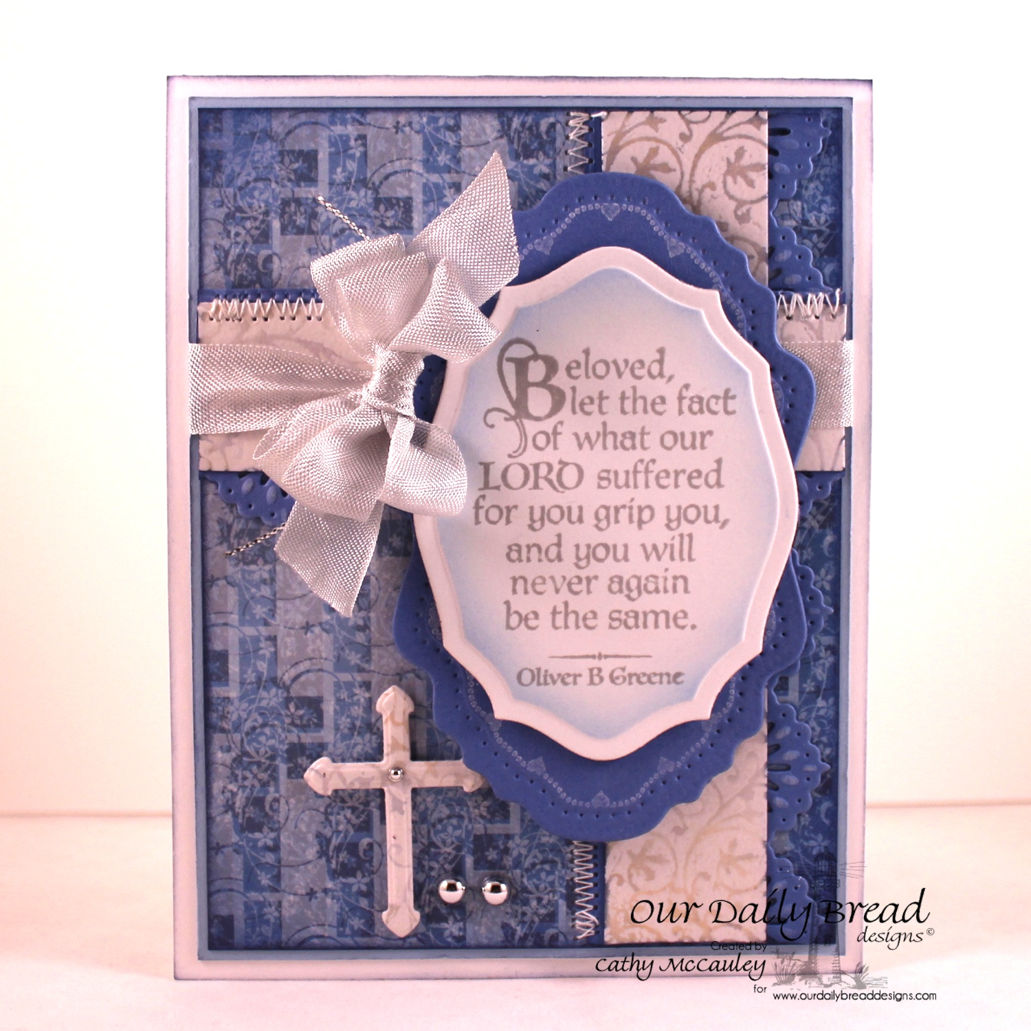 Stamps - Our Daily Bread Designs The Cross, Chalkboard Vine Background, ODBD Christian Faith Paper Collection, ODBD Custom Ornamental Crosses Die, Flourish Label Borders, ODBD Custom Vintage Flourish Pattern Die, ODBD Elegant Ovals Die
