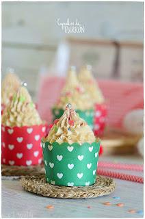 Cupcakes de turrón de Jijona/ Xixona especial para postres Navideños