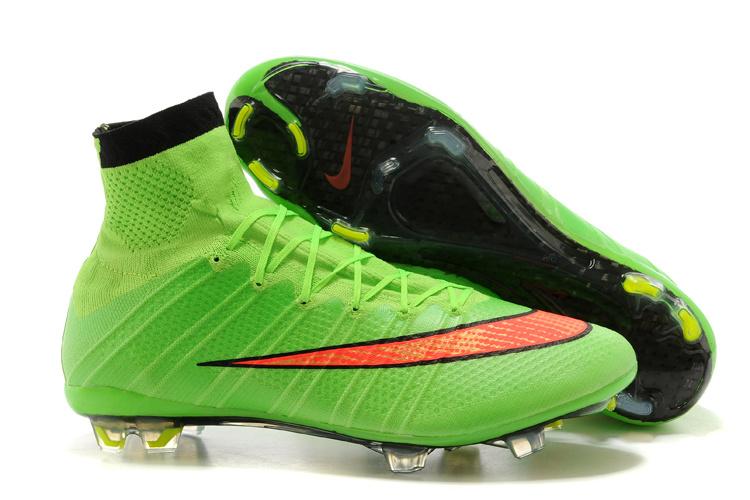 size 40 0d437 91a60 Ney Billige Fotballsko Nike Mercurial Superfly X FG Fotballsko Grønn