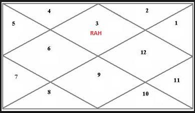 NAVAGRAHA VEDIC ASTROLOGY: RAHU (3) IN DIFFERENT HOUSES IN GEMINI
