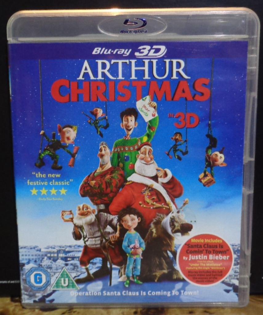 movies on dvd and blu ray arthur christmas 2011 - Arthur Christmas Dvd