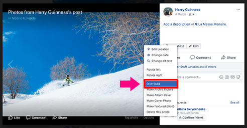 How To Download Facebook Pictures<br/>