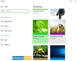 Langkah 7 Cara Download dan Mengganti Tema Windows 10