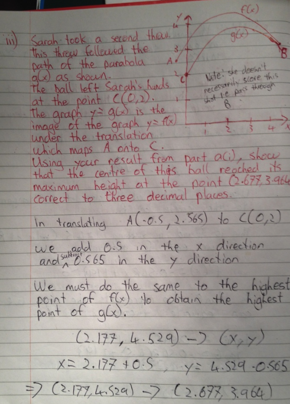 Leaving Cert Project Maths Paper 1 Solutions 17