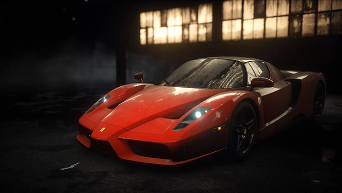 Ferrari Enzo Wallpaper Engine