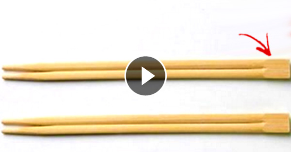 The Real Purpose Of The Tab At The End Of The Chopsticks! Mind Blown!