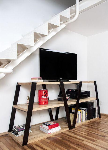 Muebles y auxiliares en hierro forjado decoshabby for Muebles de hierro y madera