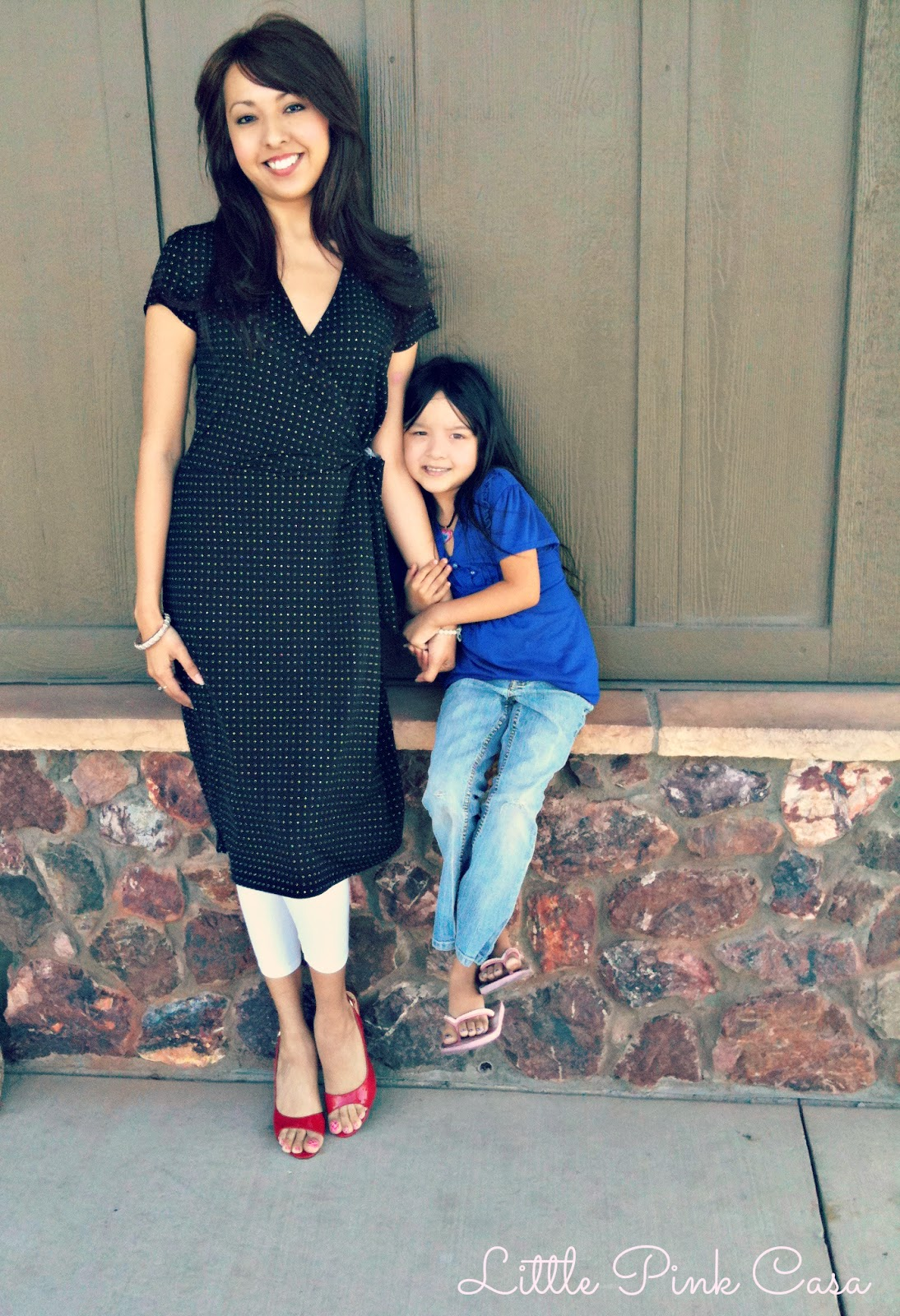 Fashion Friday The Perfect: Little Pink Casa: Flashback Fashion Friday {Mommy Daughter