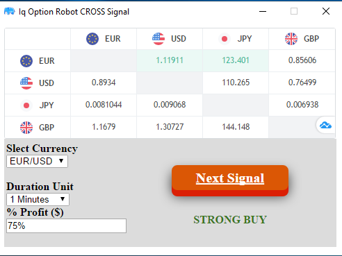 Iq Option Robot Cross Signal 2019 The Solution Winning Trade