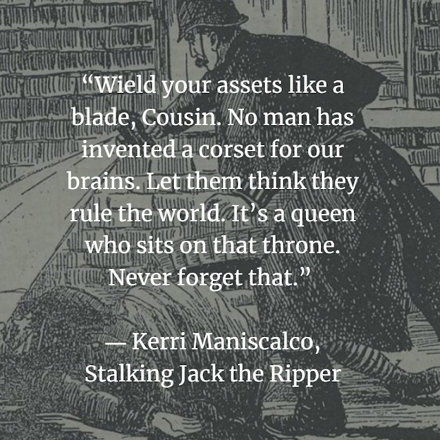 Quotes from Kerri Maniscalco, Stalking Jack the Ripper