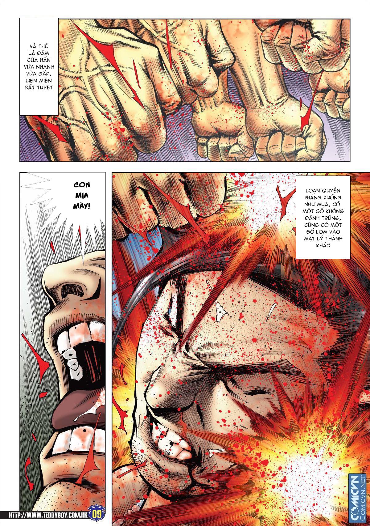 Người Trong Giang Hồ chapter 2138: thắng hết khí thế thua vì đen trang 7