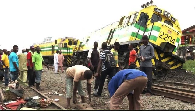 train accident in agege lagos