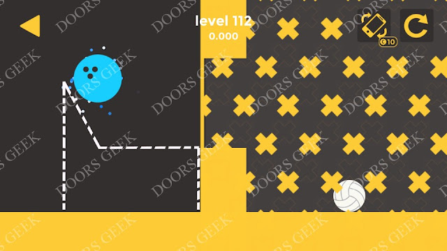 Ball & Ball Level 112 Solution, Walkthrough, Cheats for android and ios