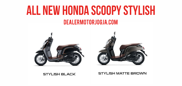 New Honda Scoopy eSP Stylish