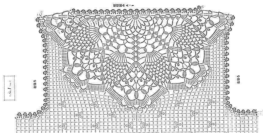 ergahandmade: Crochet Collar + Diagrams