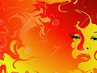 Perempuan yang Mengandung Bola Api