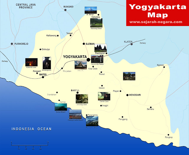 image: Yogyakarta map high resolution