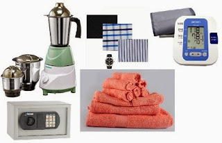 HomeShop18 Super Deal: Buy Khaitan 3 Jar Power Mixer Grinder worth Rs.2990 for Rs.1495 | Trident 10 Pc Towel Set for Rs.549 | Graviera – Maxima Men's Formalwear Combo for Rs.1199