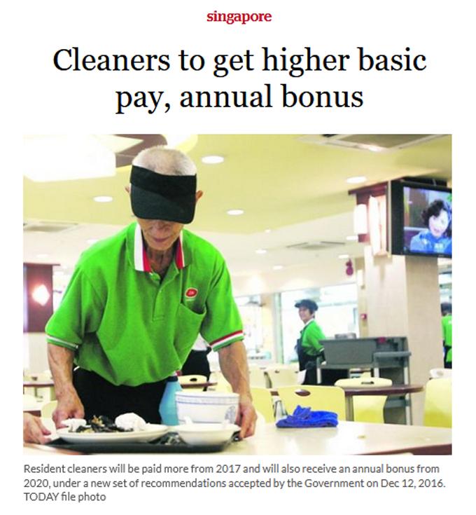 Gaji Lumayan MYR 3164 Sebagai Tukang Cuci di Singapore