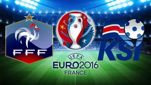França x Islândia - Quartas de Final da Euro 2016 - Prognóstico, Horário e TV