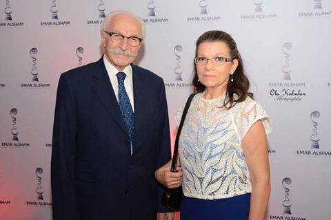 حسام تحسين بيك وزوجته ..نتالي