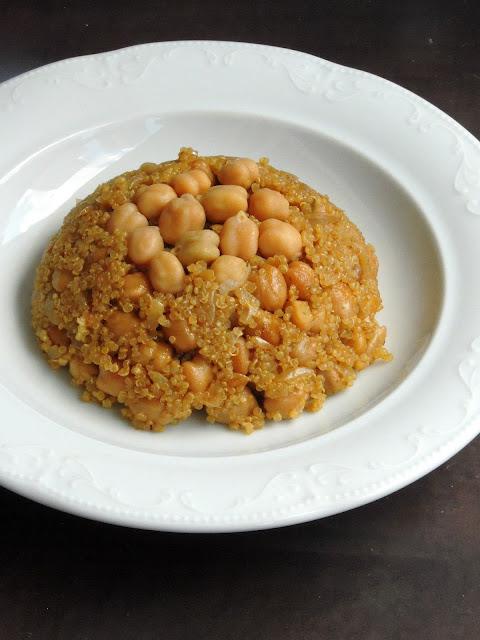 Chickpeas Quinoa Pilaf