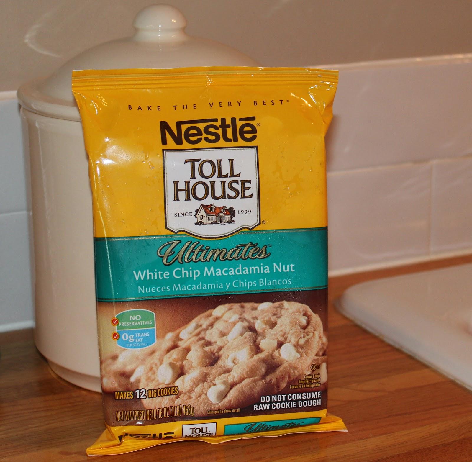 Nestle toll house white chocolate chip macadamia nut cookies