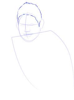 Langkah 5. Super Simpel Menggambar James Rodríguez