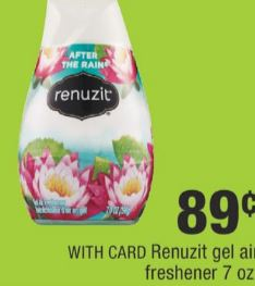 Renuzit gel air freshener cvs deal