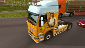 White Sun of Desert skin for Renault Premium