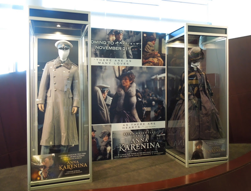 Anna Karenina movie costume exhibit
