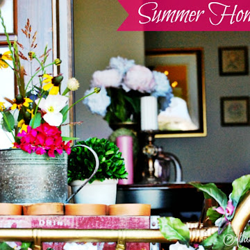 Welcoming Summer Into Our Home