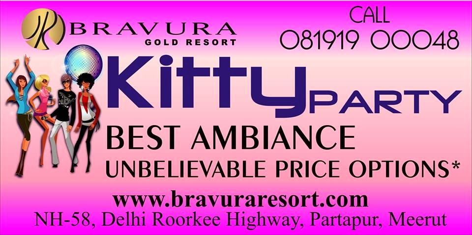 Kitty Party at Bravura Gold Resort