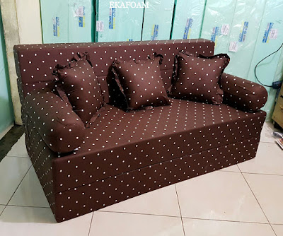 Sofa bed inoac motif minimalis duty