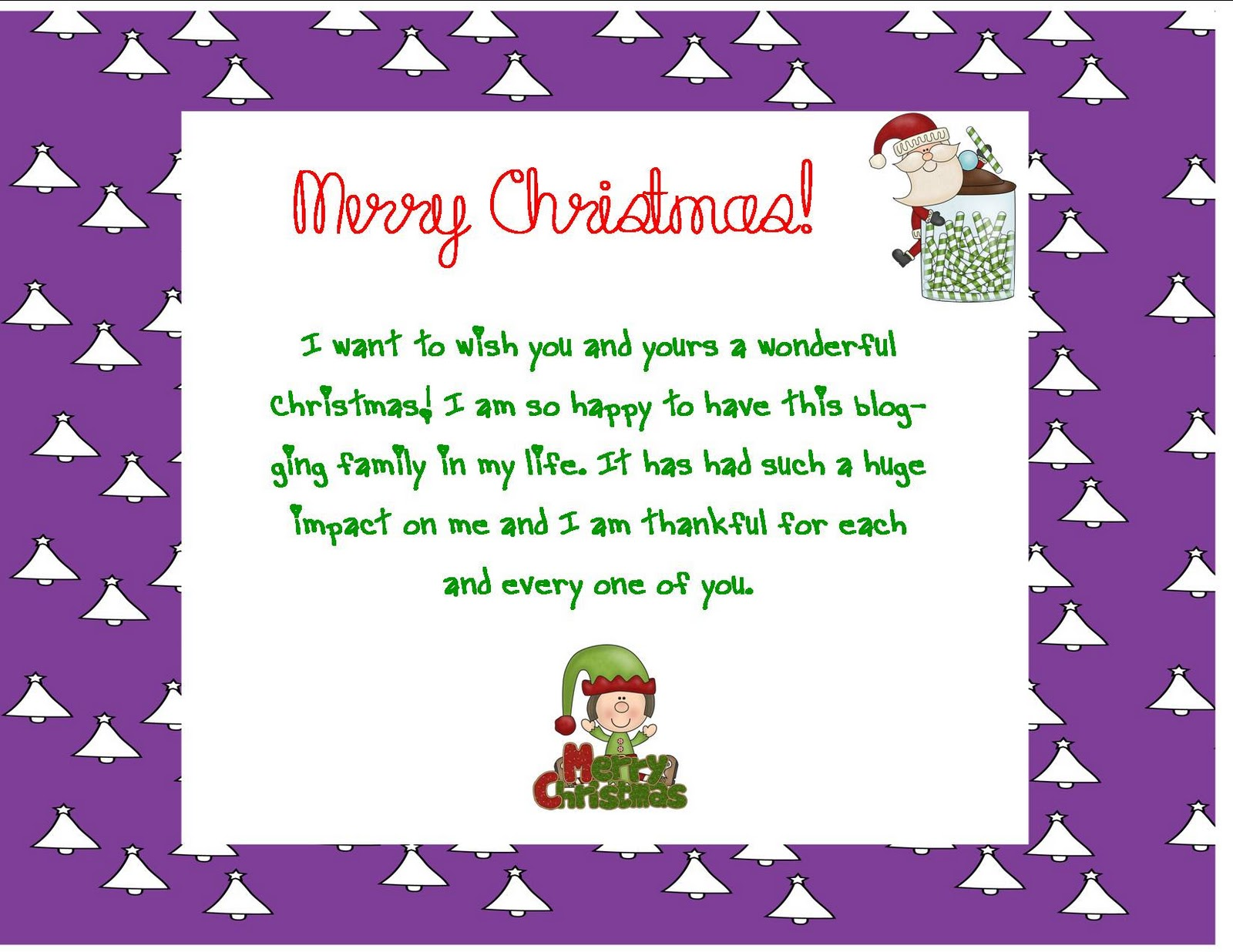 Christmas Card Sayings Quotes Wishes: Merry Christmas To All