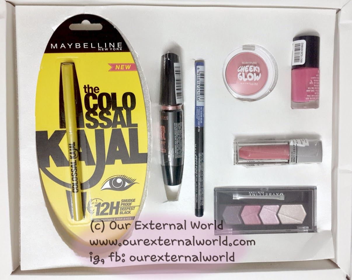 A Month Of Dell Venue And Some Random Updates - Maybelline Insta Glam Box