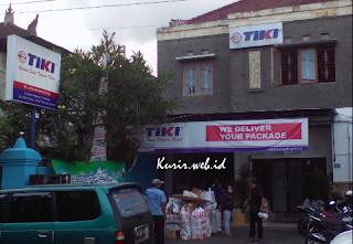 Alamat agen TIKI di Denpasar.