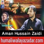 http://www.humaliwalayazadar.com/2017/09/aman-hussain-zaidi-nohay-2018.html