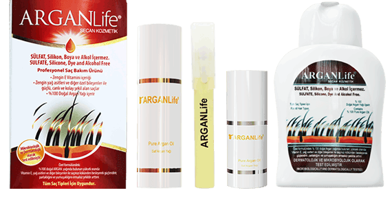 argan life hair care products