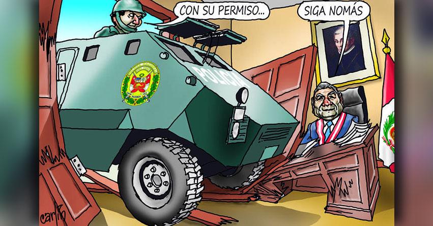 Carlincaturas Martes 10 Abril 2018 - La República