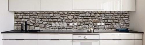 abwaschbare tapete als k chenr ckwand wohn design. Black Bedroom Furniture Sets. Home Design Ideas