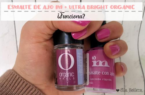 Esmalte de ajo IM + Ultra Bright Organic