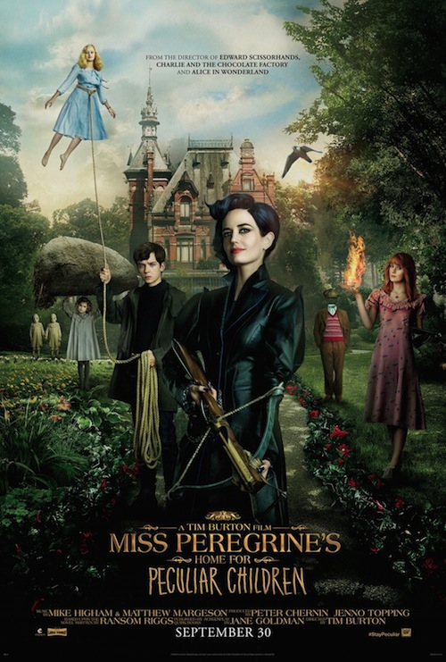 Miss Peregrine's Home for Peculiar Children (2016) บ้านเพริกริน เด็กมหัศจรรย์ [HD]