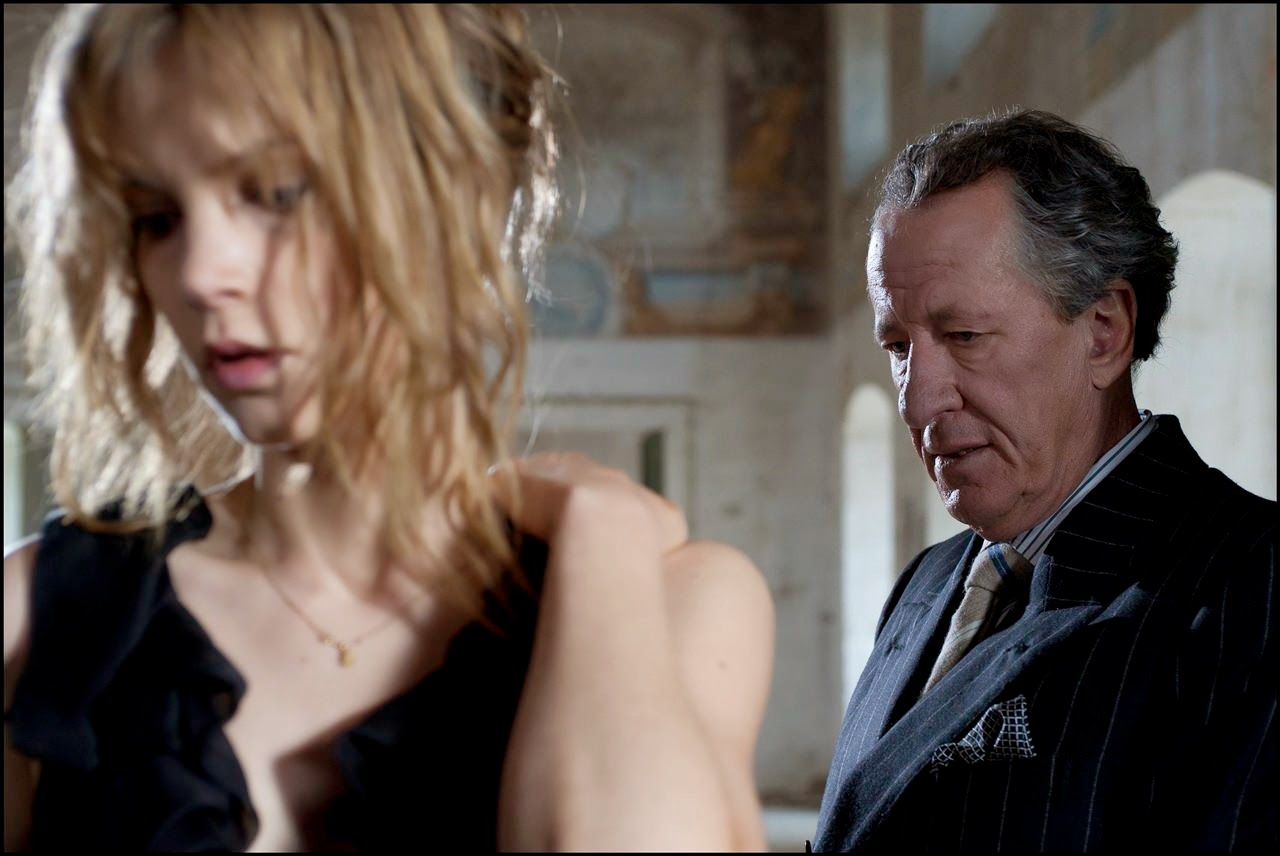 the best offer sylvia hoeks geoffrey rush