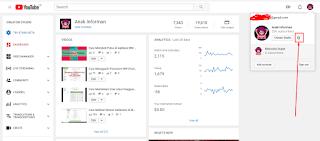 Cara membuat Channel Youtube Lebih Dari satu dengan Satu Akun Google