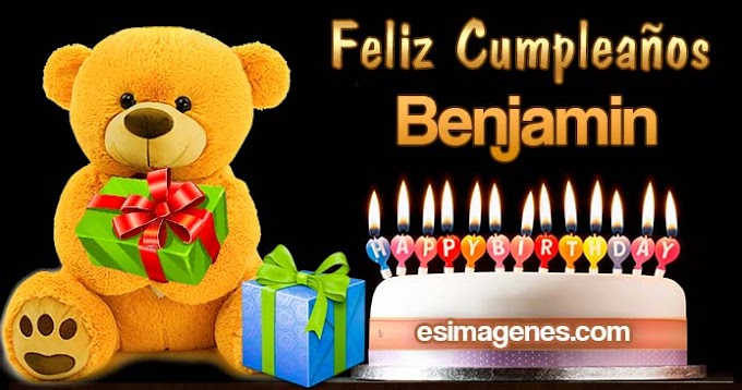 Feliz Cumpleaños Benjamin