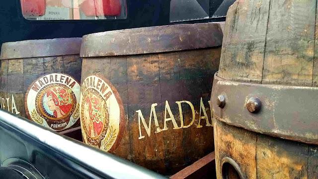 Barril Cerveja Madalena - Fábrica Premium Paulista
